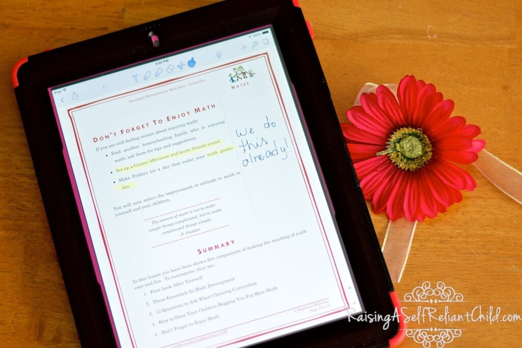 successful homeschooling made easy review 2