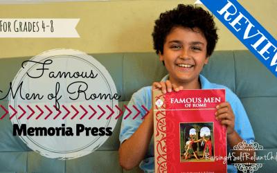 Ancient Rome Memoria Press Famous Men of Rome Review