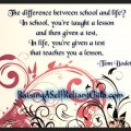 homeschool inspirational quote
