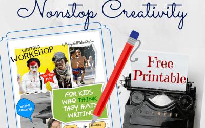 Creative Writing Workshop Free Printable