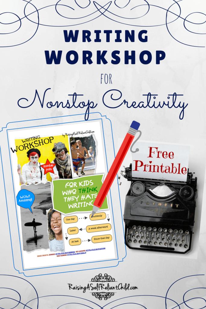 writing workshop homeschool