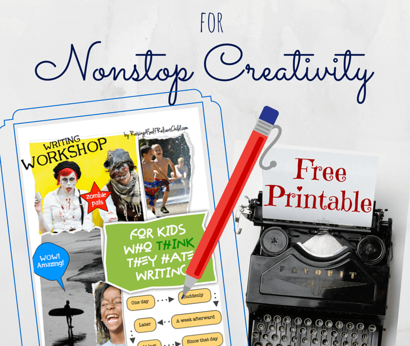 Creative Writing Workshop Free Printable