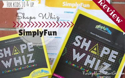Math Games SimplyFun Shape Whiz Review