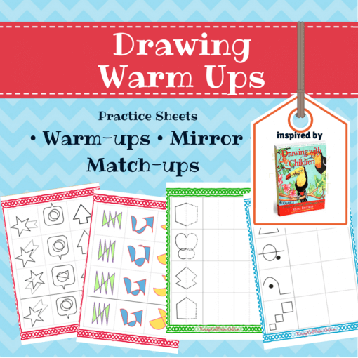 drawing with children warm up exercises
