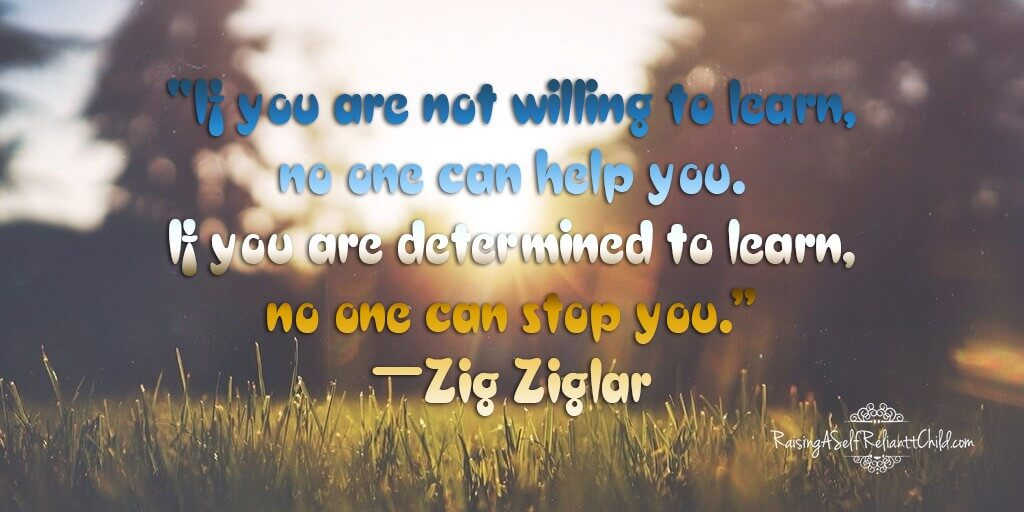 if willing to learn no one can stop you