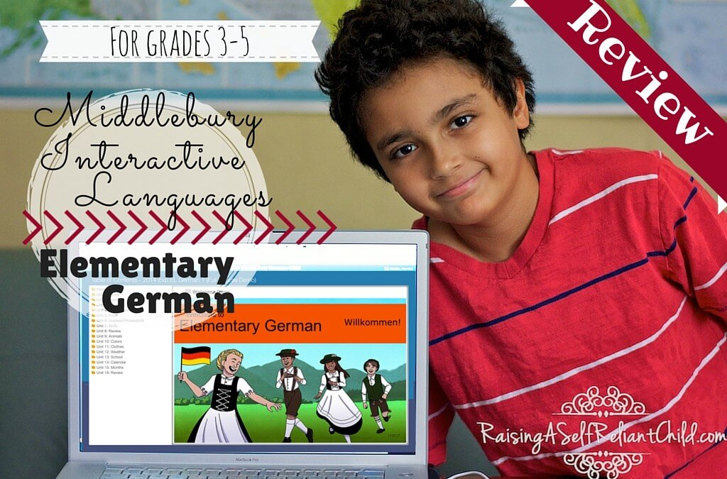 Middlebury Interactive Languages ~ Elementary German Review