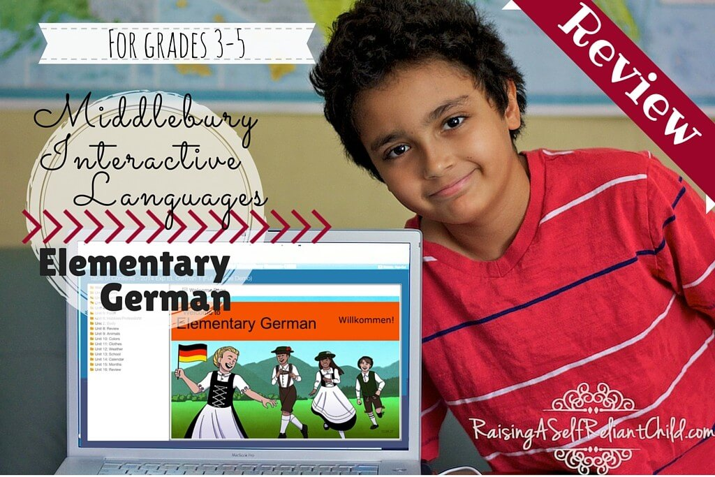 Middlebury interactive languages German for kids
