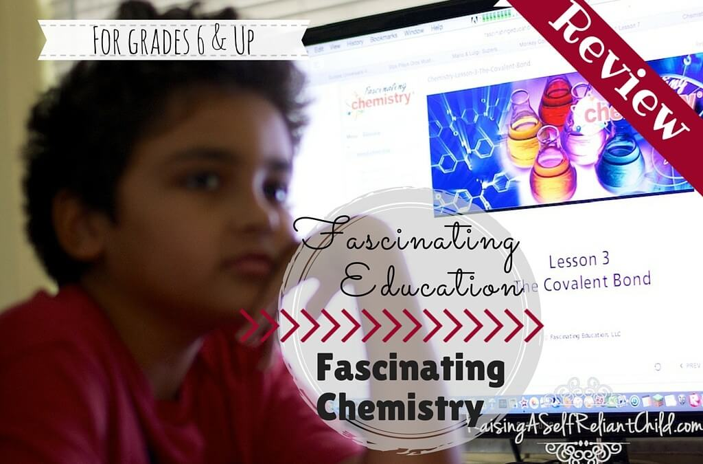 Fascinating Education Fascinating Chemistry Review
