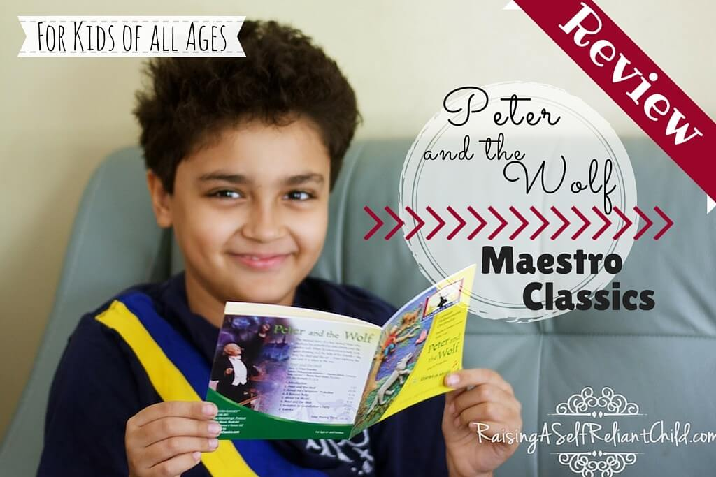 maestro classics review peter and the wolf