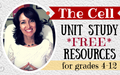 FREE Cell Unit Study Complete Resources Gr 4-12
