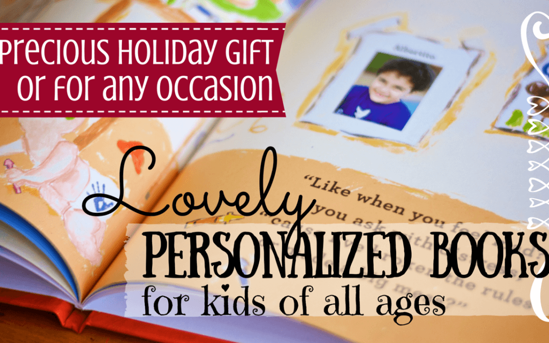Holiday Gift Idea: Your Child Starring Her Personalized Book