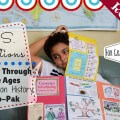 homeschool history lap book us elections review