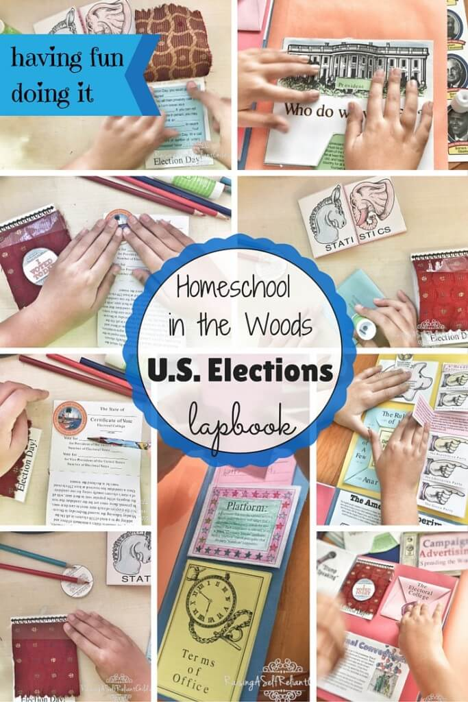 homeschool us elections lapbook review 1