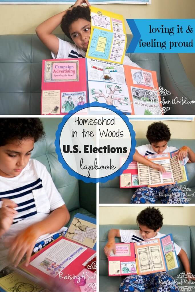 us elections lapbook review homeschool