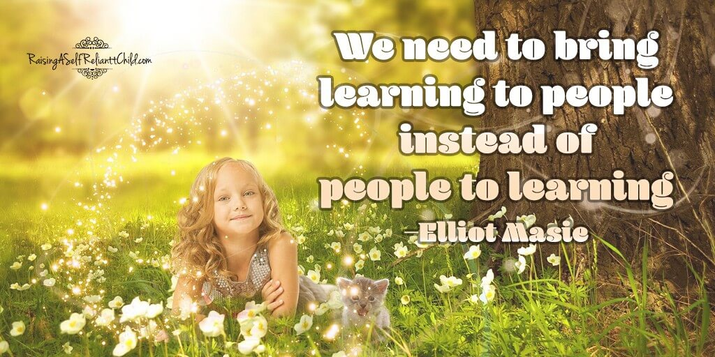 we need to bring learning to people