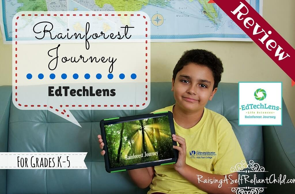 Rainforest Science EdTechLens Review