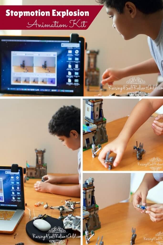 video animation kit stopmotion explosion
