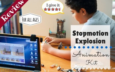 Video Animation ~ Stopmotion Explosion Review
