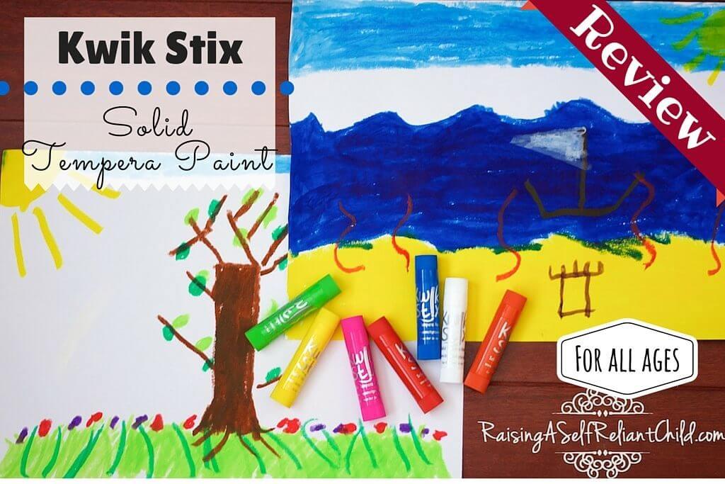 No Mess Kids Art Kwik Stix Review