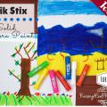 No Mess Kids Art Kwik Stix Review