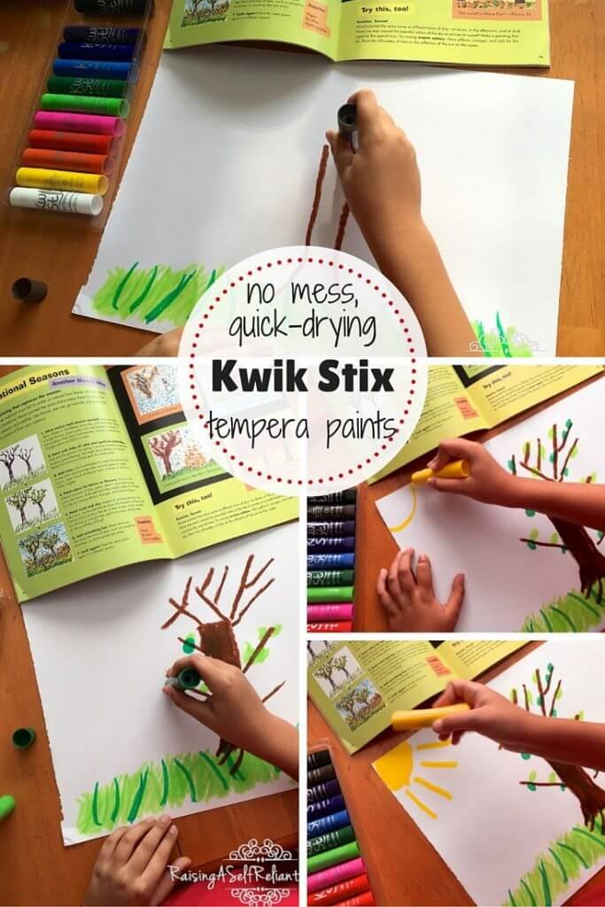 No Mess Kids Art Kwik Stix Review 2