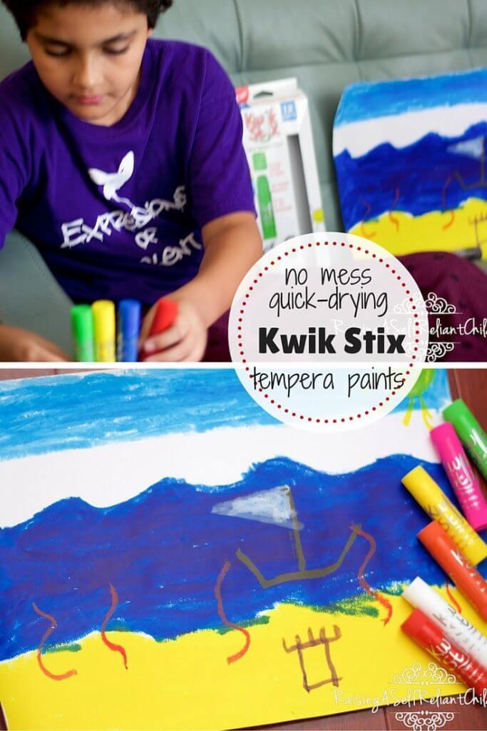 No Mess Kids Art Kwik Stix Review 3