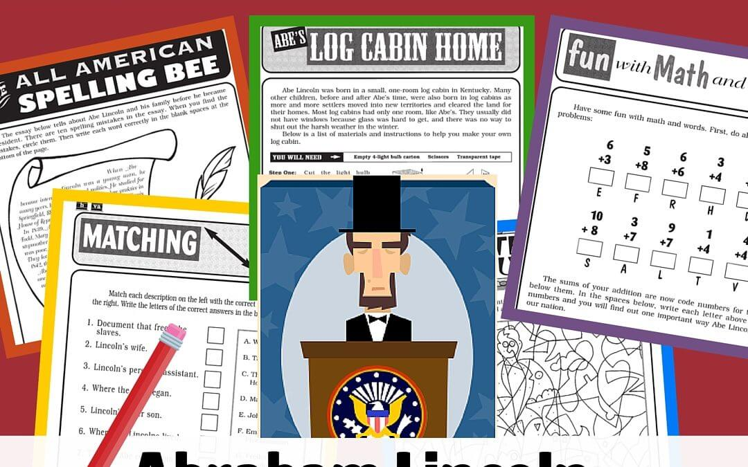 Free Printables Abraham Lincoln Mega Collection