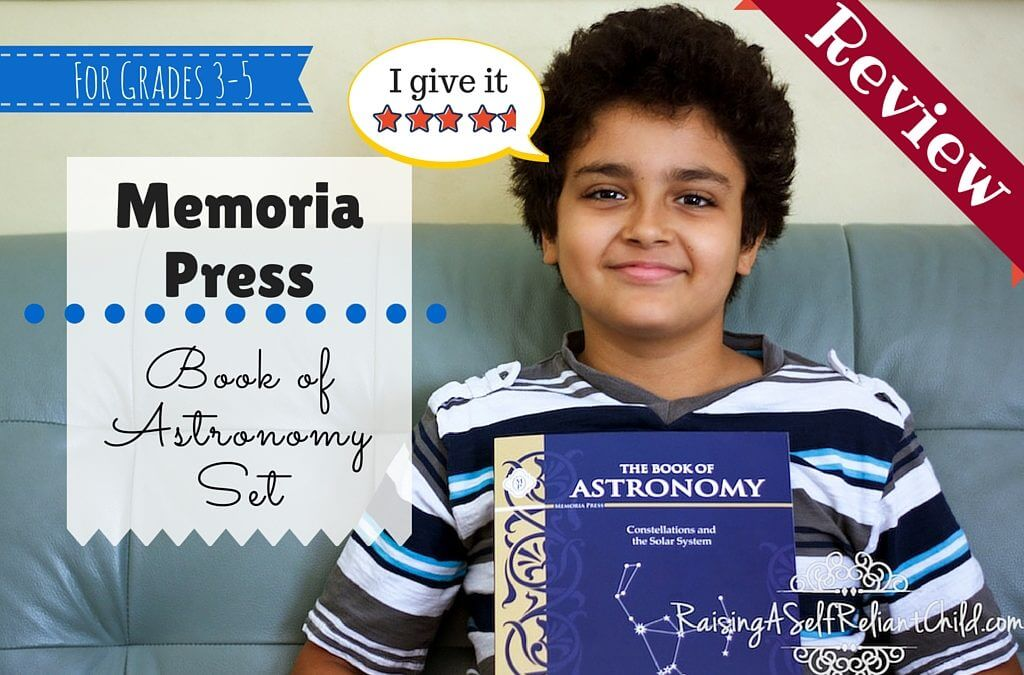 Astronomy for Kids Constellations ~ Memoria Press Review