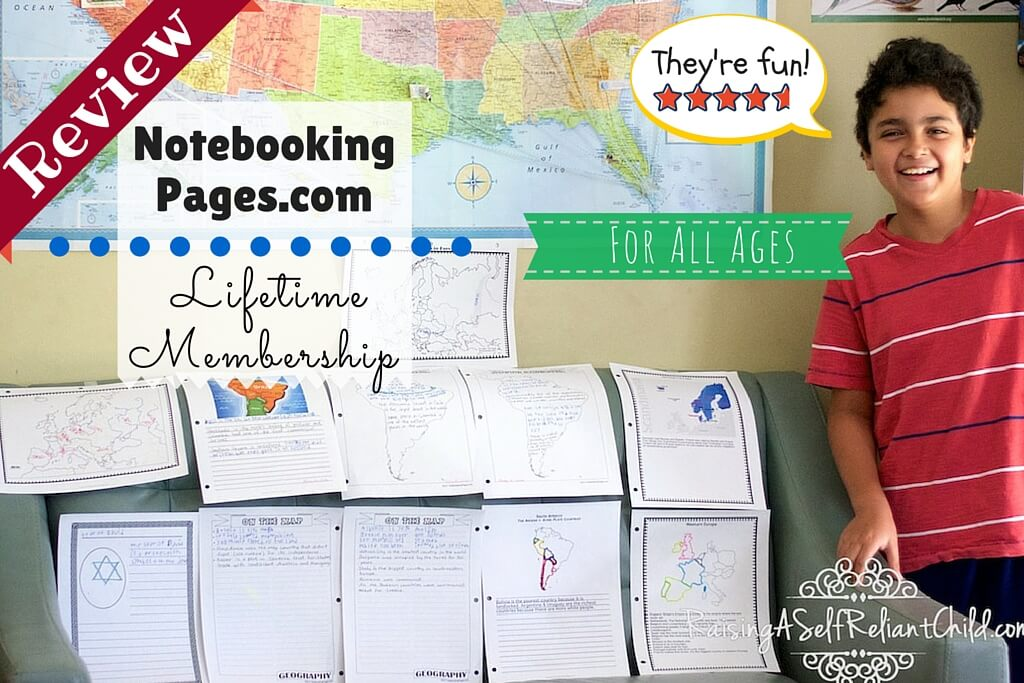 homeschool notebooking pages review