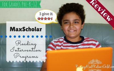Reading Intervention Programs MaxScholar Review