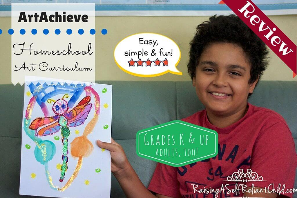 homeschool art curriculum artachieve review