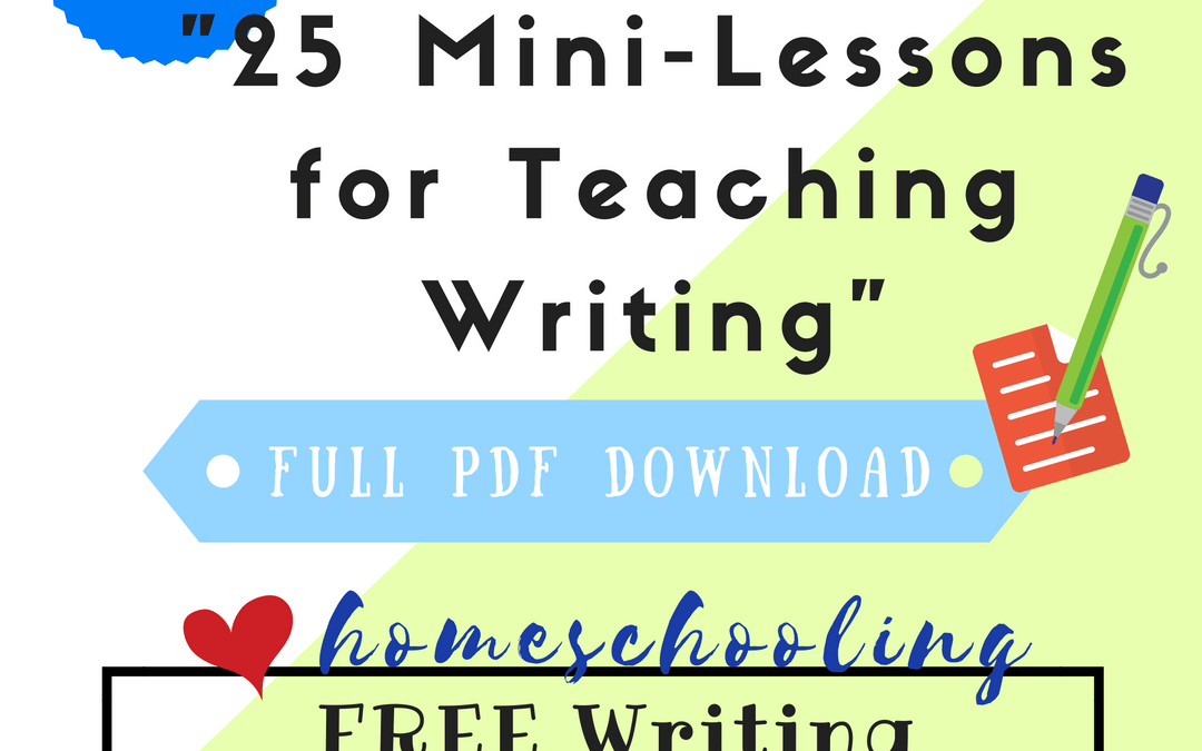 Free Writing Lessons Series #2