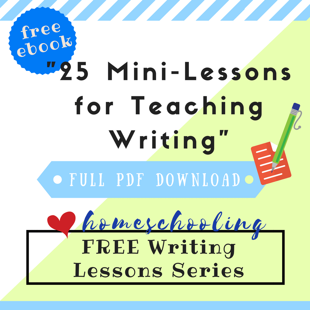 Free Writing Lessons Series 2 25 Mini Lessons For