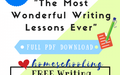 Free Writing Lessons Series #1