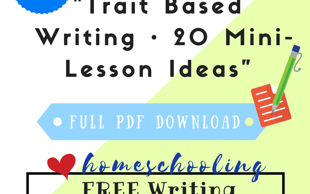 Free Writing Lessons Series #3