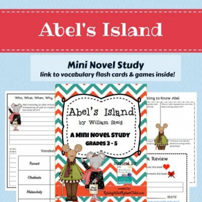 mini novel study_abelsisland