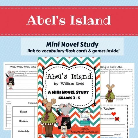 mini novel study_abelsisland
