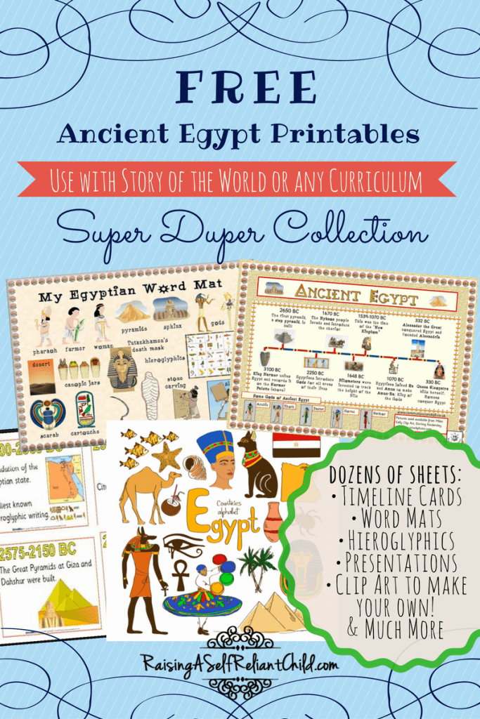 free-printables-ancient-egypt