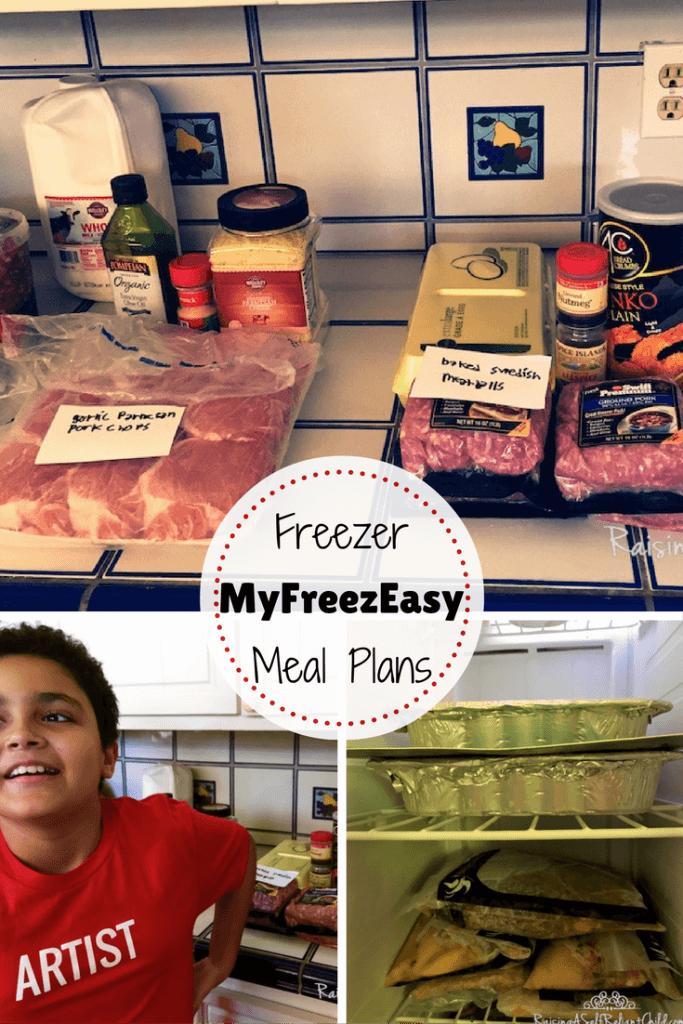 freezer meal plans myfreezeasy