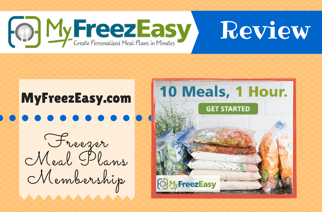 MyFreezEasy Freezer Meal Plan Membership Review