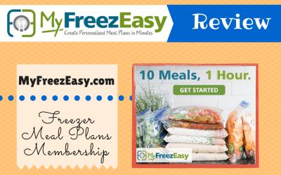 MyFreezEasy Freezer Meal Plan Membership Review