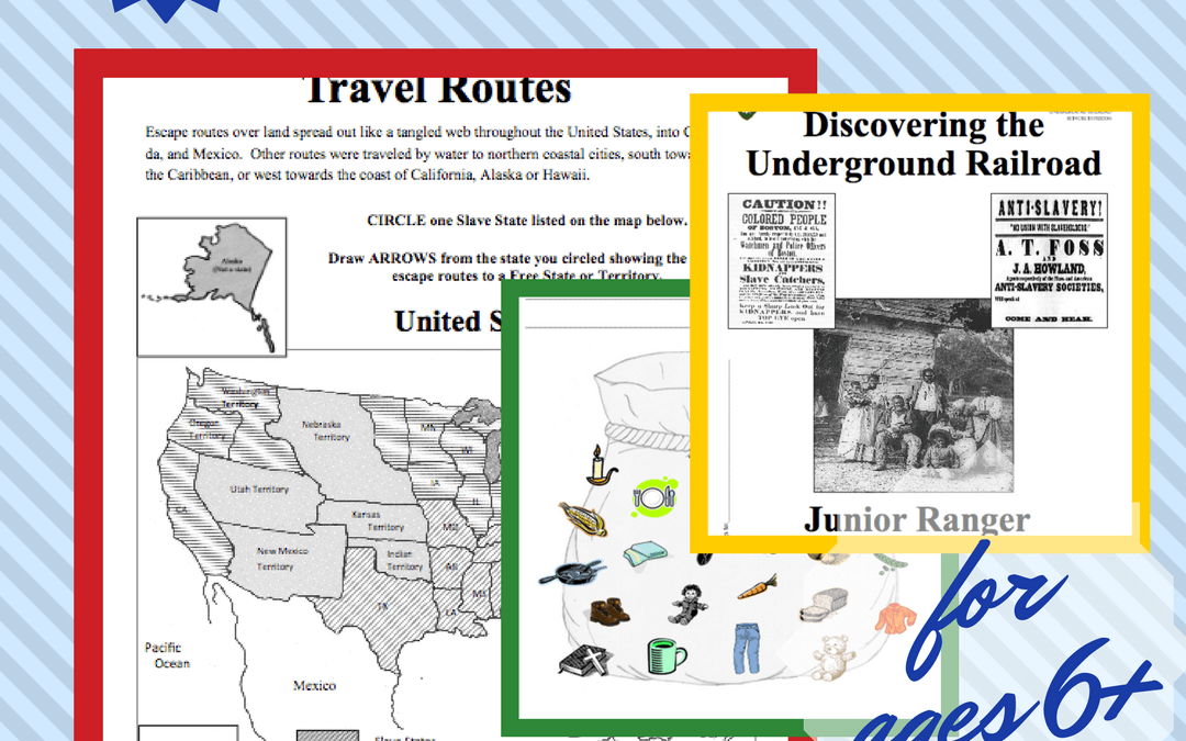 Free Activity Book Discovering the Underground Railroad