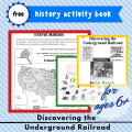 free printable underground railroad for kids homeschool