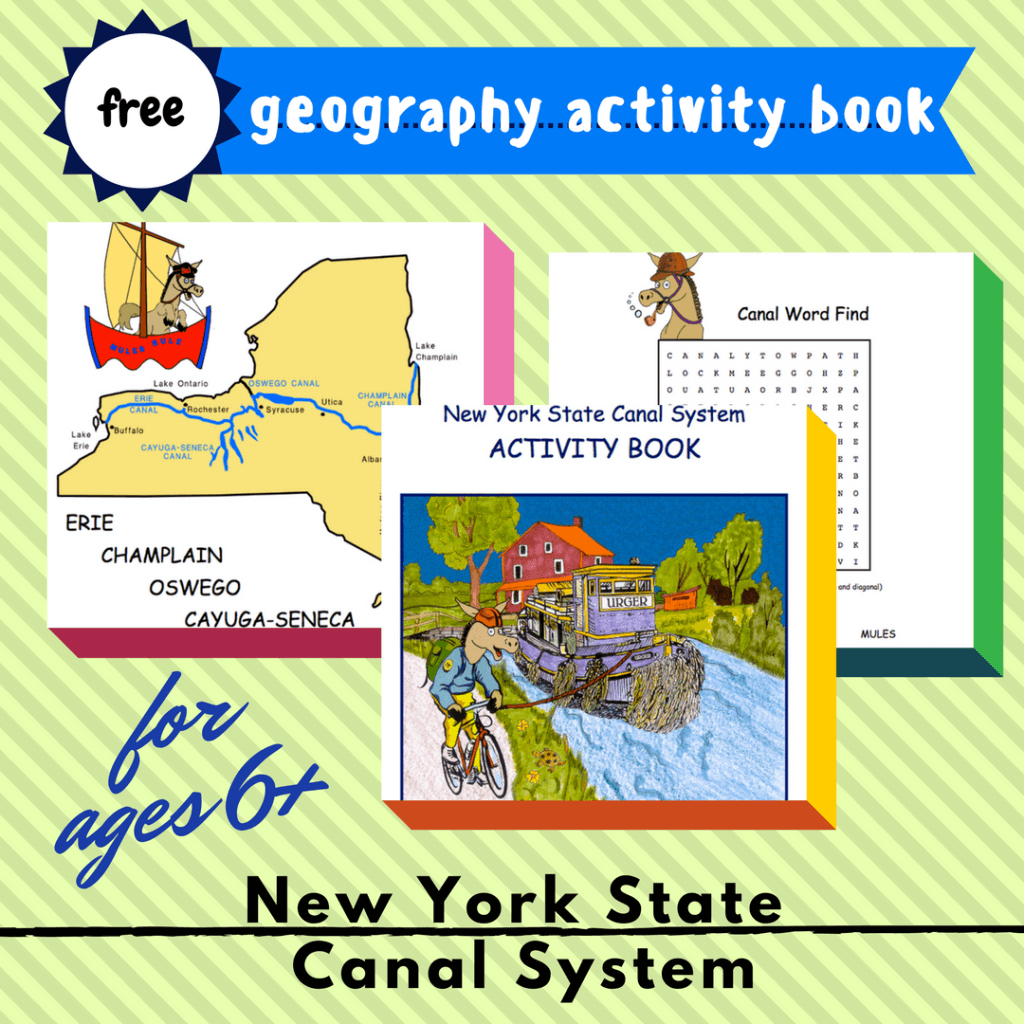 new york state canal system free printable homeschool