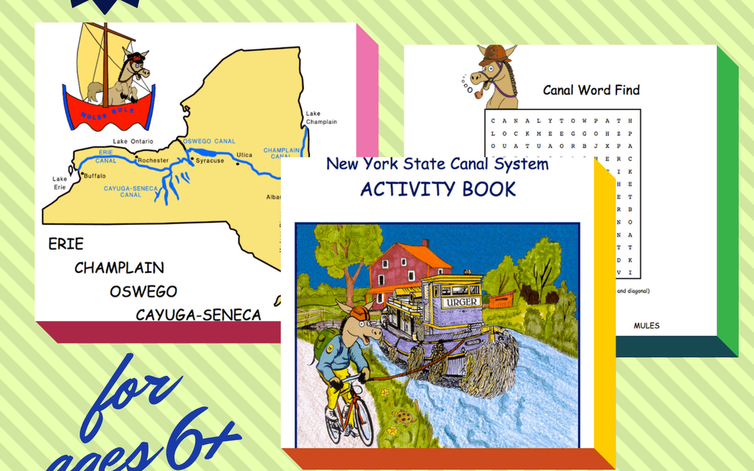 New York State Canal System Free Activity Book