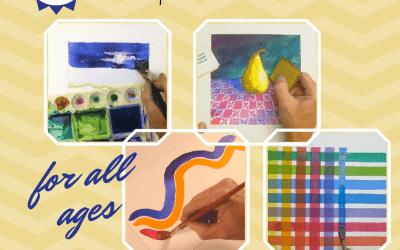 Free Ebook Watercolor Tips & Tricks Homeschool