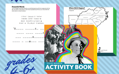 Free Printable Civil Rights Activity Book