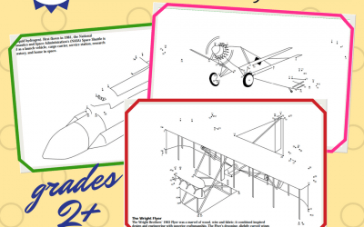 Free Printable Aircraft in History Coloring Book Homeschool