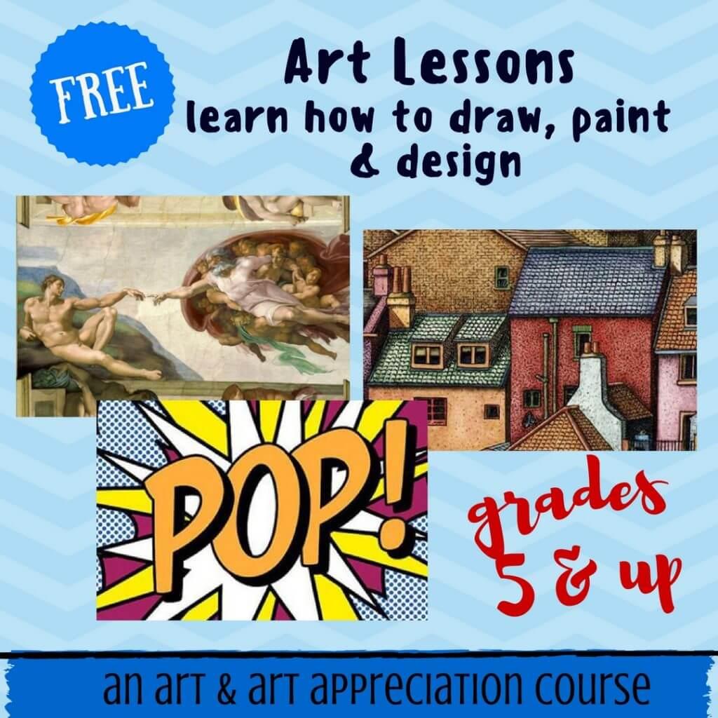 free homeschool art course