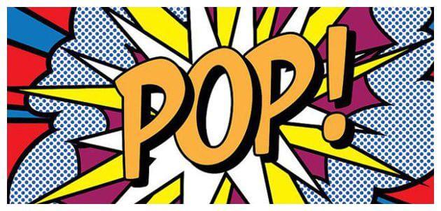 free step by step pop art